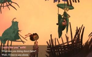 Broken Age Act 1 Green Maiden