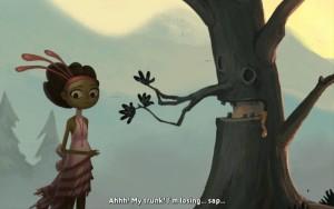 Broken Age Act 1 Talking Tree
