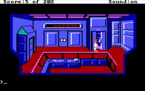 Space Quest 1 Airlock