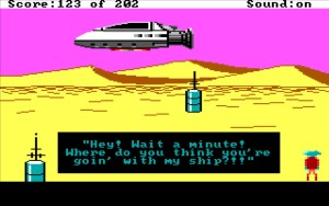 Space Quest 1 Ship Ulence Flats
