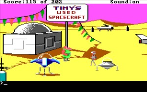 Space Quest 1 Tinys Spaceships