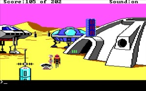 Space Quest 1 Ulence Flats