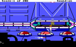 Space Quest 1 Vehicle Bay