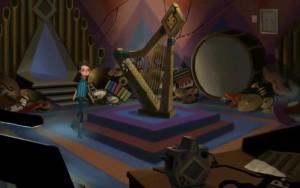 Broken Age Act 2 Music Room