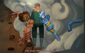 Broken Age Act 2 Vella Shay Doll