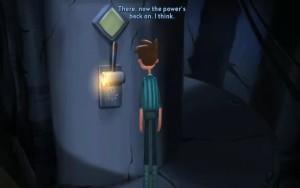 Broken Age Power Control Lever