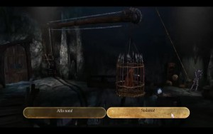 King's Quest Stuck In Cage