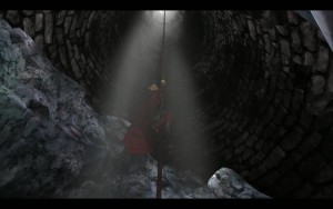 King's Quest Climbing Down Well