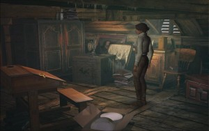 Syberia Walkthrough Attic