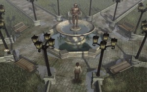 Syberia Walkthrough Factory Courtyard