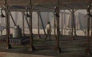 Syberia Walkthrough factory platform