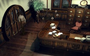 Syberia Walkthrough notary door