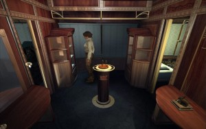 Syberia Walkthrough train pedestal