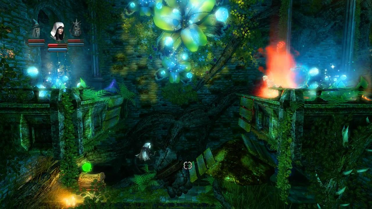 Trine Level 2 Potion 25 and Secret 2