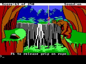 Space Quest 2 Giant Beast