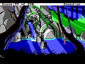 Space Quest 2 Lake
