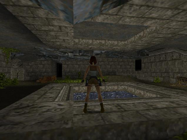 Tomb Raider 1 Level 2 Center Pool