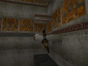 Tomb Raider 1 Level 2 Second Door