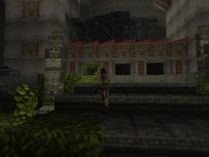 Tomb Raider 1 Level 2 The Three Doors