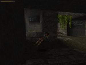Tomb Raider 1 Level 2 Wolf