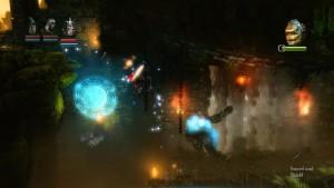 Trine Level 11 Boss Fight