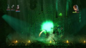 Trine Level 7 Boss Fight