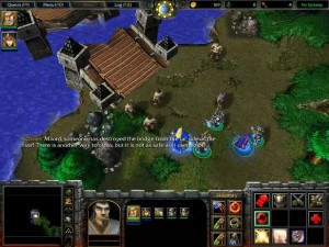 Warcraft 3 Ravages of the Plague Bridge
