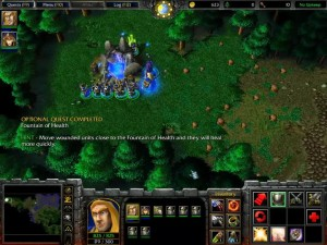 Warcraft 3 Ravages of the Plague Fountain of Life