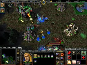 Warcraft 3 Reign of Chaos Human Campaign 4 Undead Base
