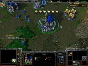Warcraft 3 Reign of Chaos Human Campaign 5 Jaina's Items