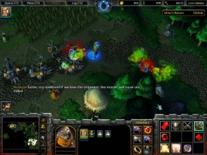 Warcraft 3 Reign of Chaos Human Campaign 5 Undead Caravan