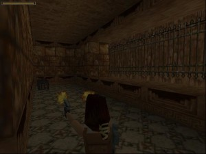 Tomb Raider 1 Level 5 - Atlas Door