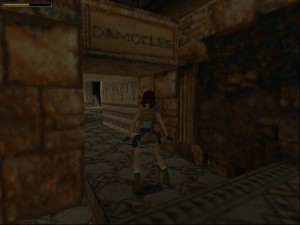 Tomb Raider 1 Level 5 - Damocles Door