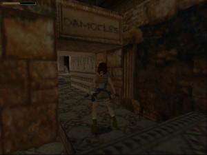 Tomb Raider 1 Level 5 - Damocles Door