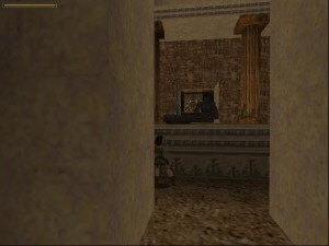 Tomb Raider 1 Level 5 - Gorilla Room
