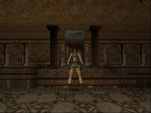 Tomb Raider 1 Level 5 - Neptune Door
