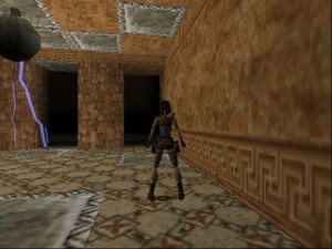 Tomb Raider 1 Level 5 - Thor Door