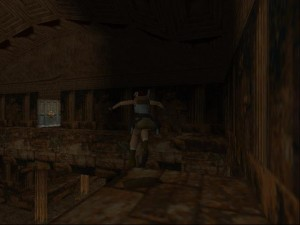 Tomb Raider 1 Level 5 - Upper Level Door