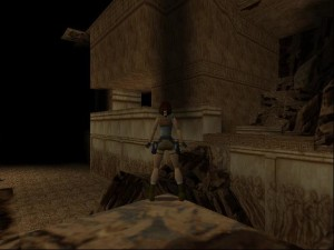 Tomb Raider 1 Level 6 - Balcony Room