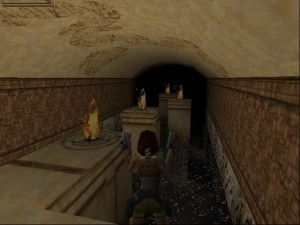 Tomb Raider 1 Level 7 - Fire Room