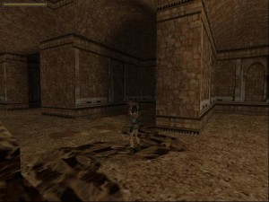 Tomb Raider 1 Level 7 - Lions in Alcove