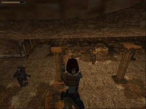 Tomb Raider 1 Level 7 - Pillar Room