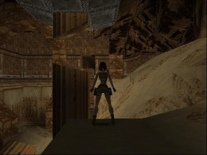 Tomb Raider 1 Level 7 - Sand Room