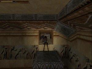 Tomb Raider 1 Level 7 - Spiked Room Opening