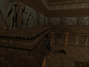 Tomb Raider 1 Level 7 - Switch Combination Room