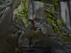 Tomb Raider Level 3 - Large Waterfall