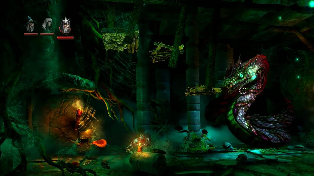 Trine 2 Level 2 Forlorn Wilderness Boss Fight