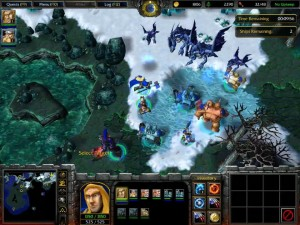 Warcraft 3 Reign of Chaos Dissension - Blue Drake