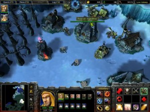 Warcraft 3 Reign of Chaos - Shores of Northrend - Dwarf Base