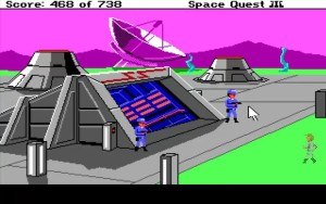 Space Quest 3 Entering Scumsoft
